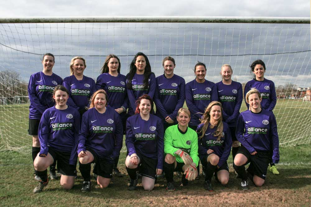 Garston Ladies team photo